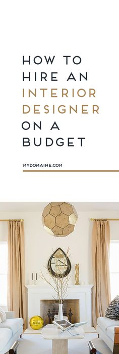 Yes, You Can Hire An Interior Designer On A Budgetu2014Hereu0027s How