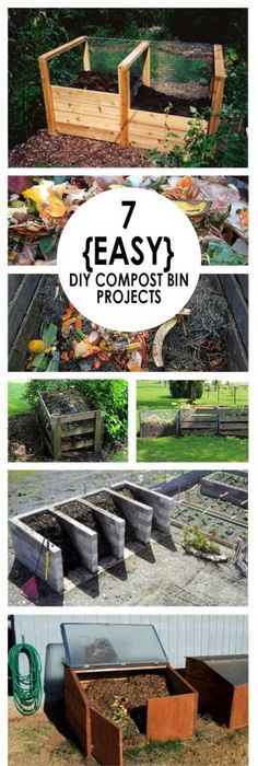 These DIY Compost Bin Projects Will Look Good In Your Yard And Help You Be  More Green!