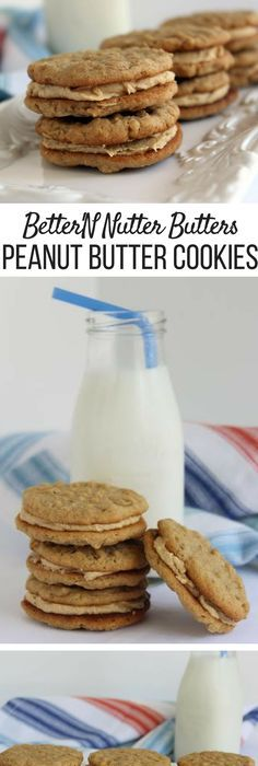 Adults and children are going to love this stuffed peanut butter cookie.  Linda's addition of