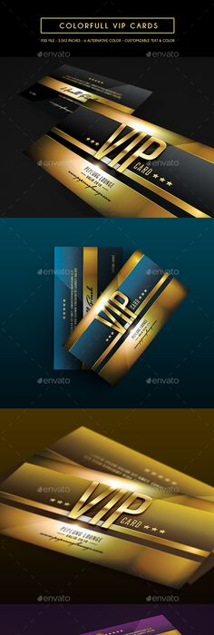 Vip business card vip business cards and business colorfull vip card photoshop psd company vip card available here https reheart Choice Image
