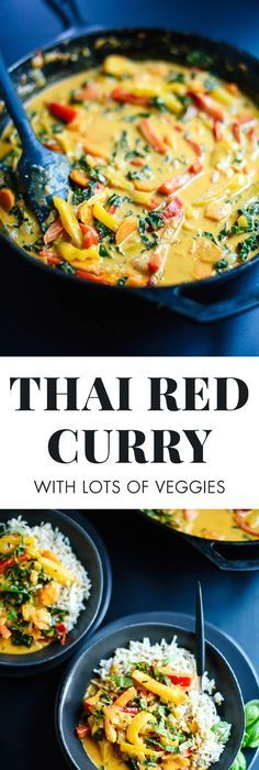This less than 30 minute thai red curry chicken tastes straight out thai red curry with vegetables milk recipesthai food forumfinder Gallery