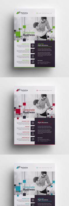 Vuxa  Corporate Flyer  Flyer Template Newspaper And Layouts