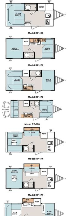 Image Result For Cargo Trailer Conversion Floor Plans V