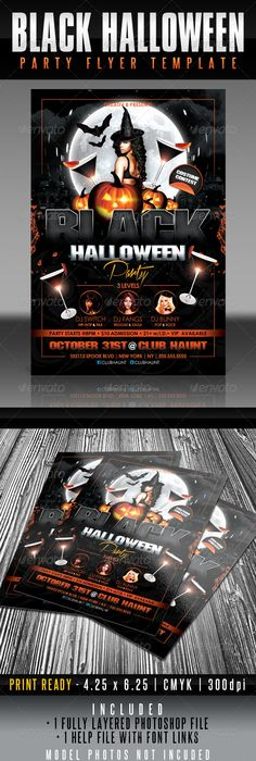 Spooky Halloween Party Flyer Template This Spooky Horrortemplate