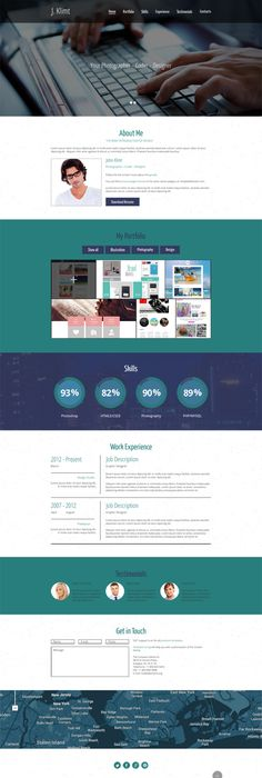 One Is A Free Bootstrap Html Website Template  Free Business