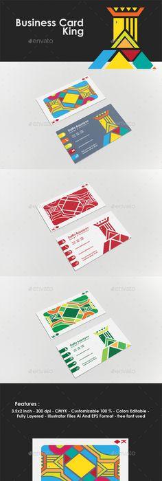 Digital artist business card template card templates business business card king colourmoves Images