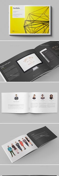 A5 Portfolio Template | Indesign templates, Template and Brochures