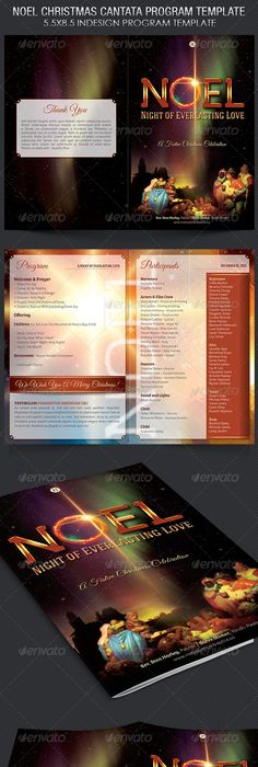 Pastor Appreciation Event Program Template  Program Template
