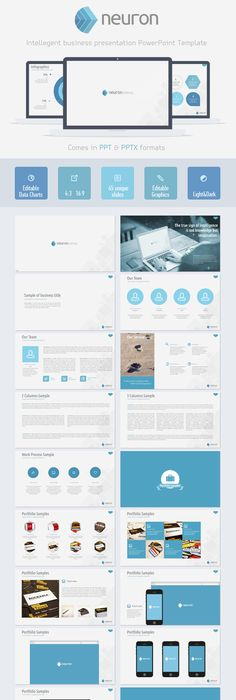 Design power powerpoint template creative powerpoint templates neuron powerpoint presentation template toneelgroepblik Gallery