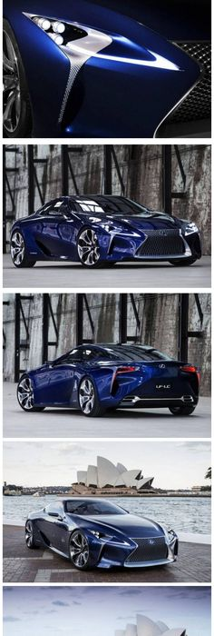 This Ainu0027t Your Grandpau0027s Lexus! The Lexus LF LC Blue Concept. This Car Is  Going Into Production Next Year. It Could Be A Game Changer For Lexus