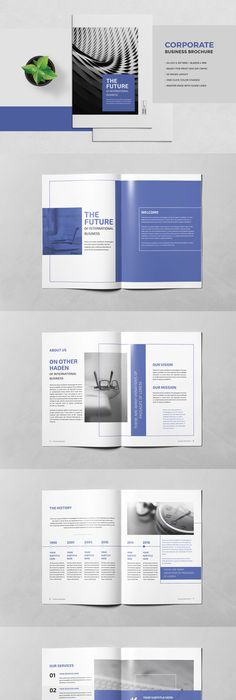 A TriFold Brochure Corporate Design   Pinteres