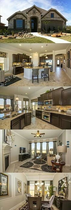 open kitchen i love the contrast of dark wood and white for my home pinterest open. Black Bedroom Furniture Sets. Home Design Ideas