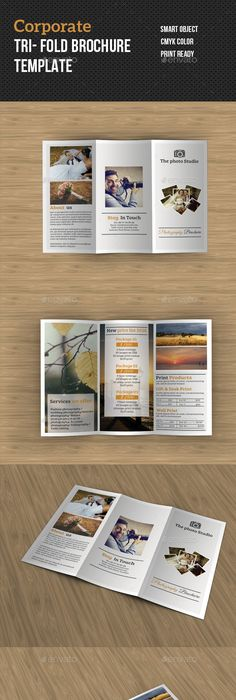 Bifold Brochure  Brochures Brochure Template And Ai Illustrator