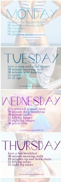 Never Miss A Monday Workout Again! Challenges Pinterest Monday