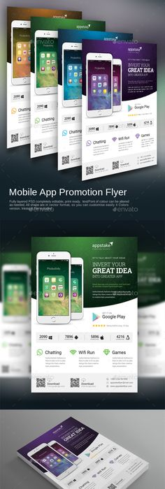 Check Out Flat Design Flyer Template By Ultimatebundles On