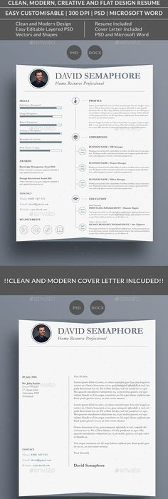 Free Professional Resume Cv Template For Graphic Designers  Job