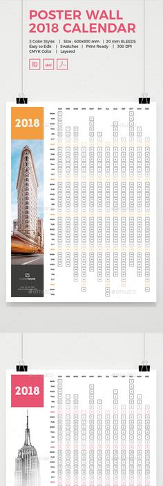 Calendar  Ai Illustrator Template And Print Templates