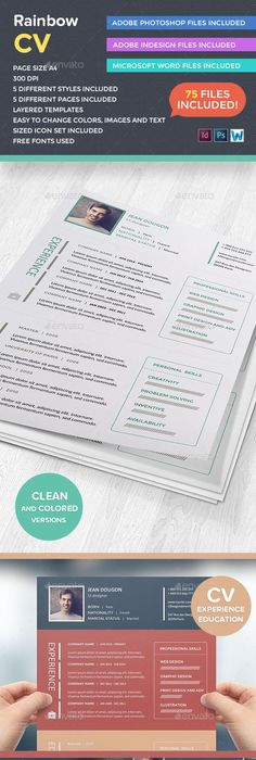 Cv Resume 3 Page Resume Cv With Letter  Resume Cv Psd Templates And Template