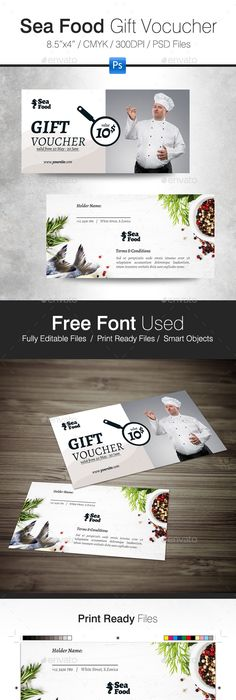 Minimal Voucher Card   Minimal And Fonts