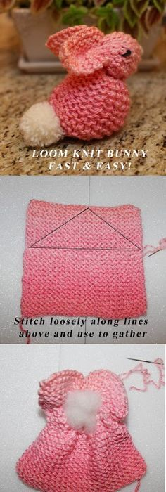 Learn To Knit On Circle Looms Learning Round Loom And Loom Knitting