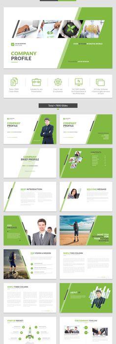 Free Download  Company Profile Template  Brochure  Magazine