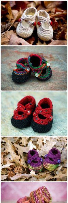 Garter stitch baby shoes free knitting pattern baby shoes 40 knit baby booties with pattern dt1010fo