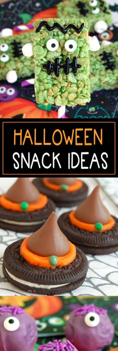 Rolo Monster Eye Cookies Recipe Monster eyes, Easy halloween - halloween party treats ideas