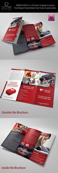 Law Firm Tri Fold Brochure Template  Tri Fold Brochure Template