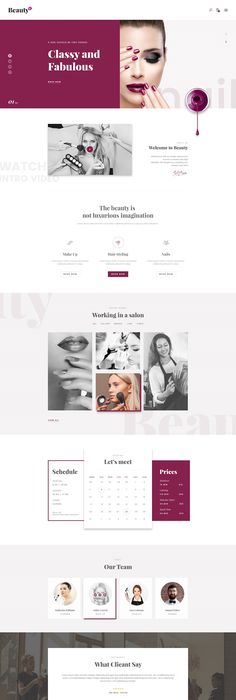 10 Best Spa & Beauty Salon WordPress Themes 2016 | WordPress Themes ...