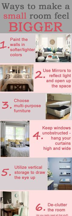 20 Bedroom Organization Tips To Make The Most Of A Small Space. Small Room  Design ...