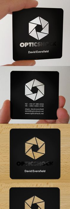 5 conseils pour vos cartes de visite de photographe business cards slick laser cut black plastic business card design reheart Images