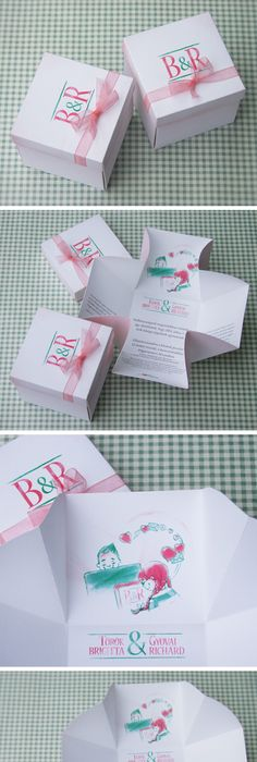 A Wedding Card which has design like facebook - Undangan Model - fresh invitation dalam bahasa inggris