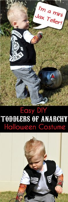 Top 10 DIY Infant Toddler Halloween Costumes for Under $20 Toddler - unique toddler halloween costume ideas