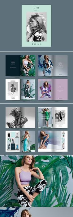 Fashion Lookbook Template Minimal Style  Portfolio