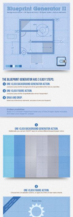 Create a Cocktail Blueprint Using Actions in Photoshop All about - best of blueprint education ltd