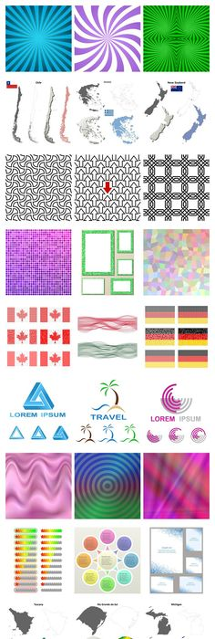 delicate pattern background vector material design elements