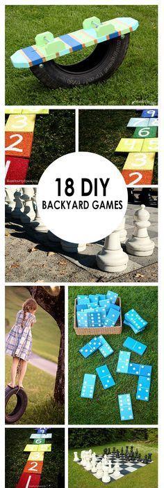 Do it yourself outdoor party games the best backyard entertainment 18 diy backyard games solutioingenieria Gallery
