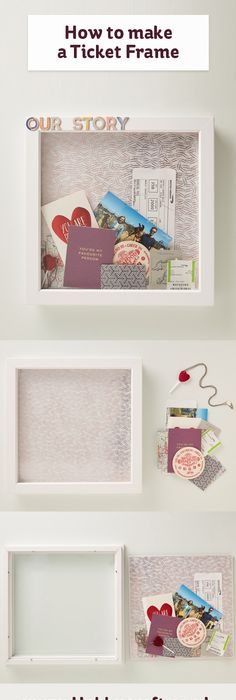 Darcy\'s Frames and Scrapboxes | Ephemera, Souvenir and Collage