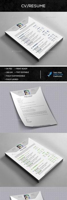Resume Templates by graphicalark Professionally designed, easy-to - resume cover leter