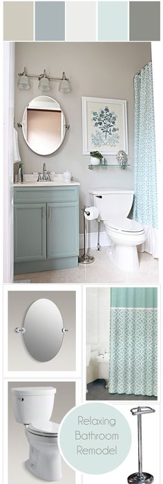 Canadau0027s Got Colour Winner | Relaxing Bathroom Makeover #colour #stylyze  #generalpaint