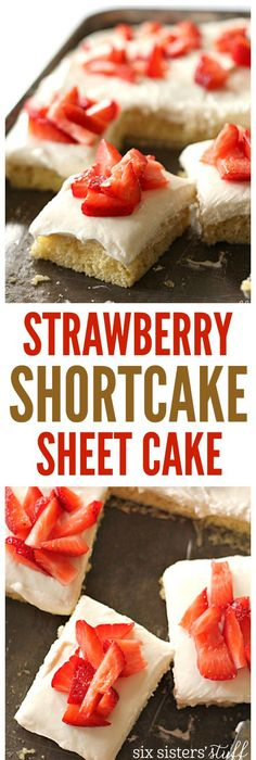 Blueberry angel food sheet cake recipe sweet tooth blueberry strawberry shortcake sheet cake from sixsistersstuff best dessert recipes party food forumfinder Image collections