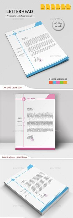 Letterhead  Stationery Printing Print Templates And Template