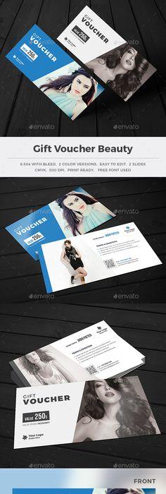 Vectors - Black Gift Voucher Templates 2 | Template and Brand design