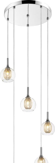 drop lighting fixtures. Z-Lite 905-5 Auge Modern ChromeHalogen Multi Drop Lighting Fixture Fixtures