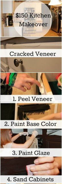 The ragged wren : Painting Laminated Cabinets   Kitchen Remodel ...
