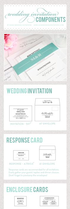 Standard Invitation Sizes  SarahS Wedding Paper Things