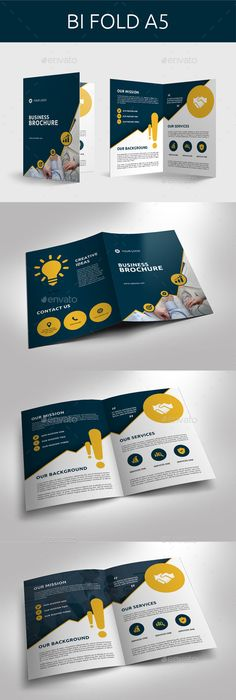 Corporate Square TrifoldV  Brochure Template Brochures And
