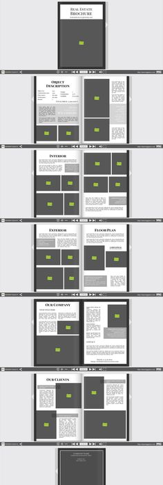 Magazine Layout and Grid Thumbnails | Template, Magazines and Layouts