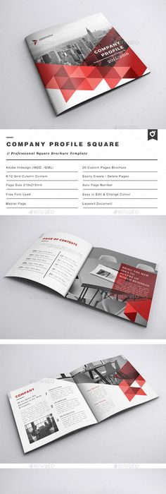 threesixty company profile template   Presentation   Pinterest ...