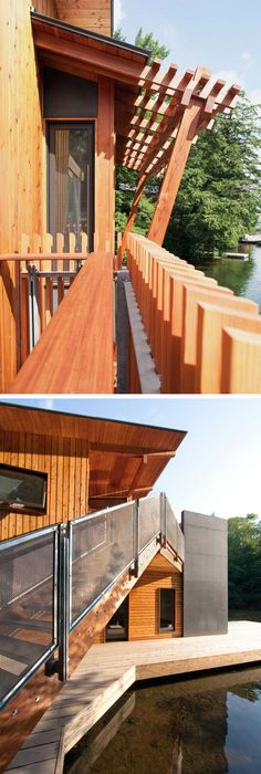 MOS Architects, Floating House, 2005, Lake Huron. See More. From  Onsomething · Muskoka Boathouse By Christopher Simmonds Architect. Canada